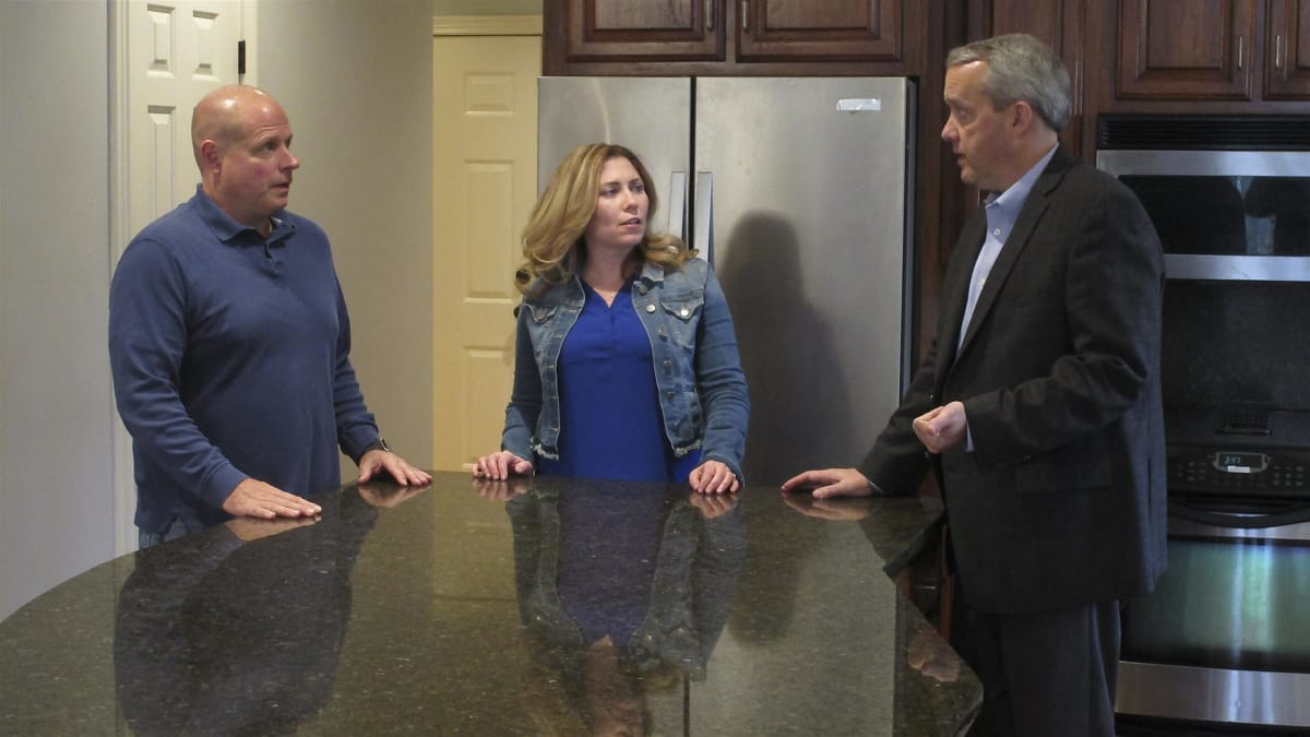 An Indianapolis couple searches for bigger home for their growing family.