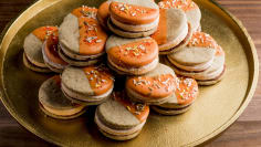 Pumpkin Spice Moon Pies